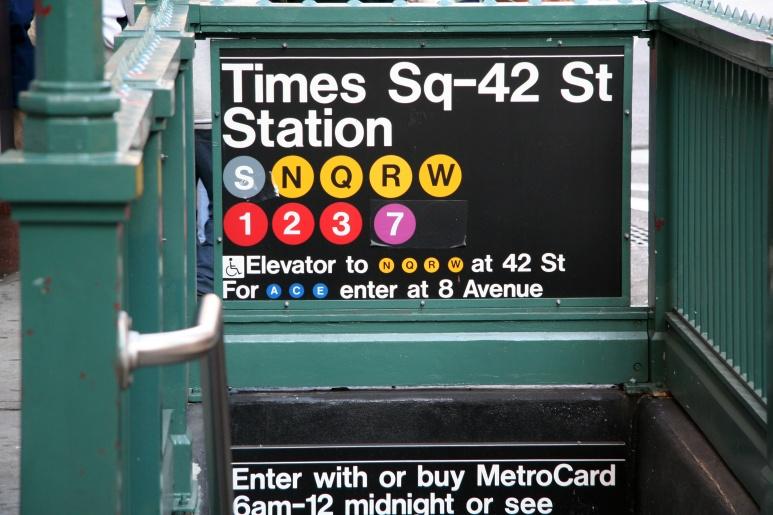 New York Subway Station