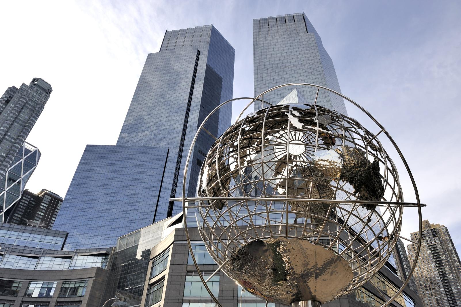 Globe at Columbus Circle - Manhattan - New York