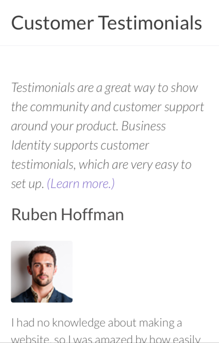 Mobile Portrait Mode: Customer Testimonials